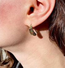 Load image into Gallery viewer, Spiked, hook earrings