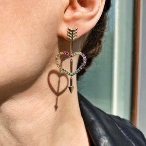 Lovestruck, ear pendants