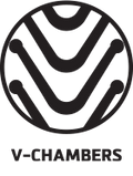 Circular icon showing the V Pattern of the Static V Sleeping Pad.