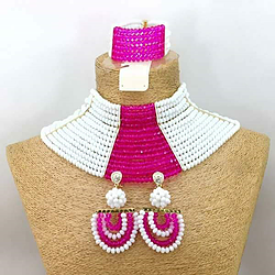 Party Jewelry Set - Ladybee Swiss Lace