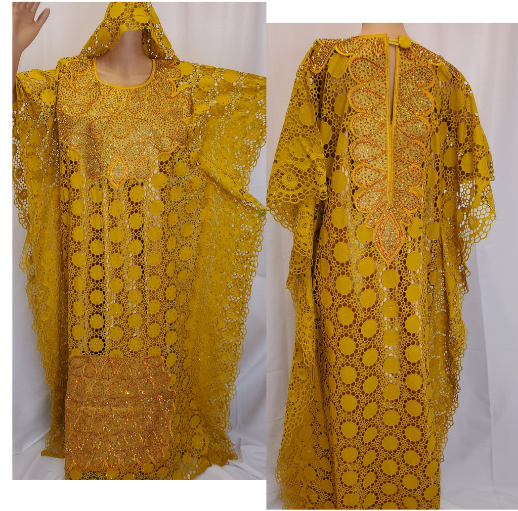 SENEGALESE HIGH QUALITY READY-MADE DRESS 4