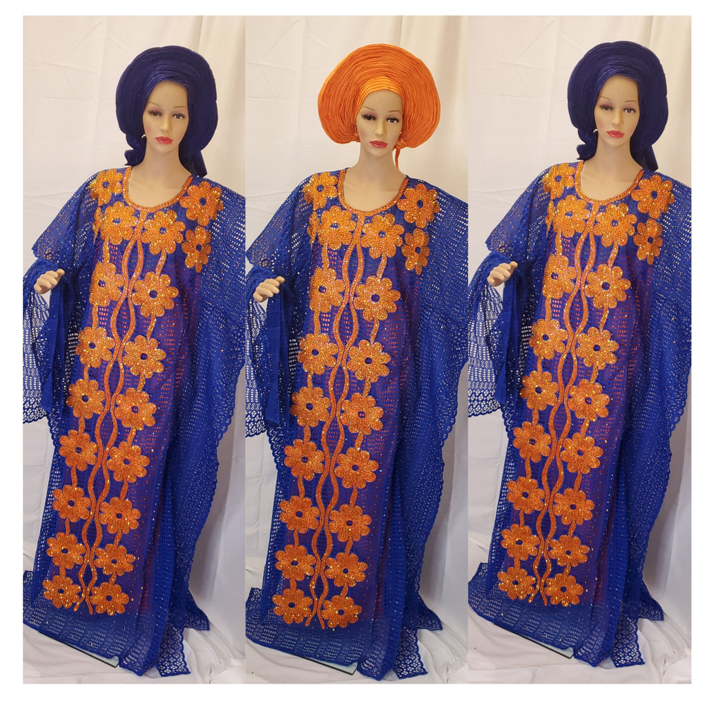 SENEGALESE HIGH QUALITY READY-MADE DRESS BUBU