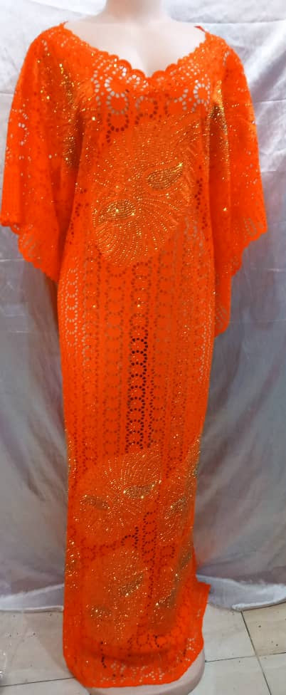 SENEGALESE HIGH QUALITY  READY TO WEAR DRESS
