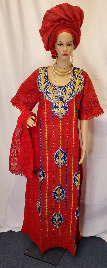 READY TO WEAR ELEGANT SENEGALESE SWISS LACE