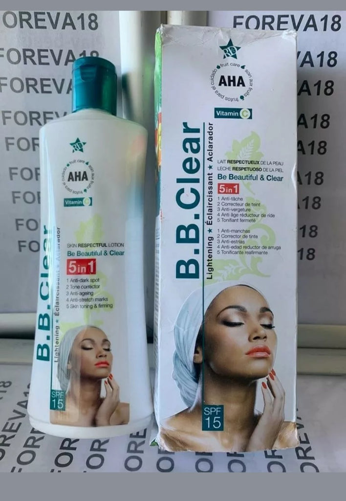 BB CLEAR WHITENING BODY LOTION 5 in 1