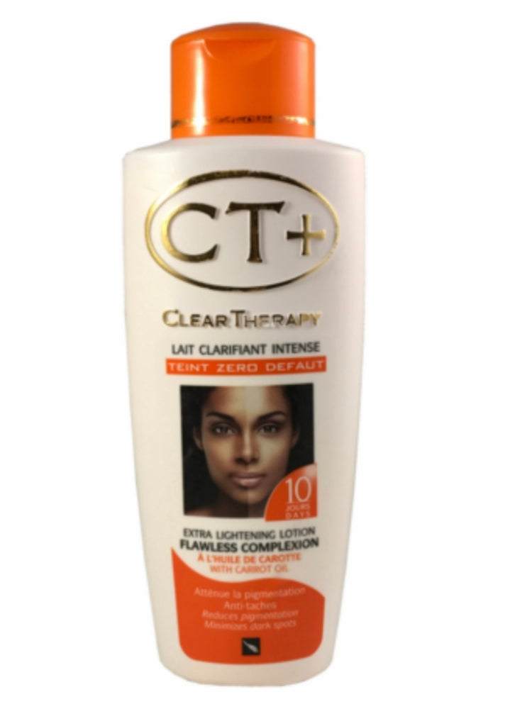 CT+ Clear Therapy Extra Lightening Lotion with Carrot Oil