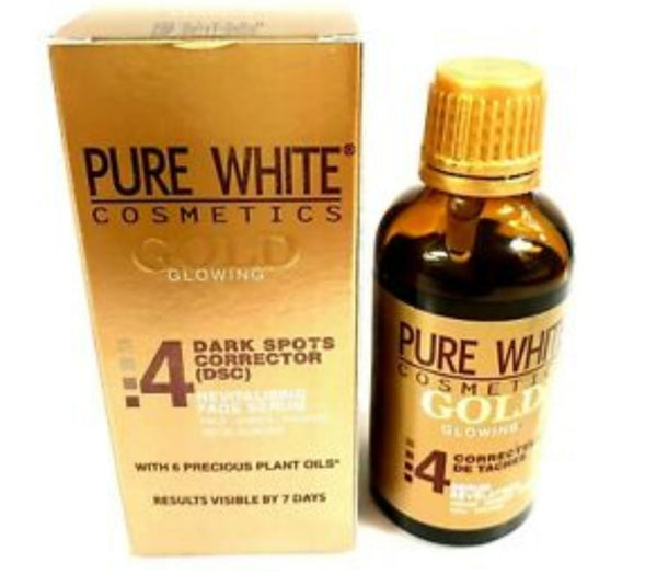 PURE WHITE GOLD SERUM FOR DARK SPOT CORRECTOR