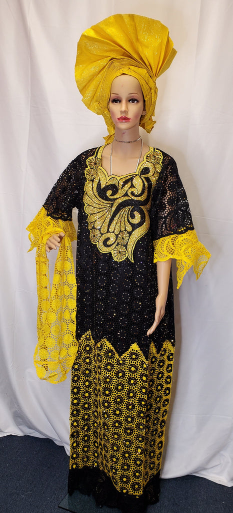 SENEGALESE READYMADE HIGH QUALITY DRESS