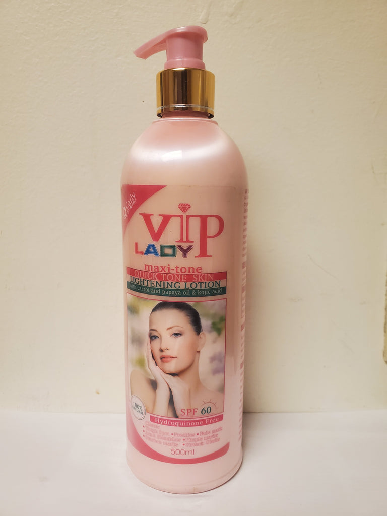 VIP LADY MAXI-TONE BODY WHITENING BODY LOTION
