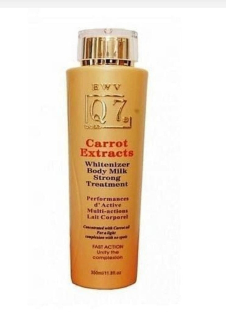 Q7 Carrot Extract Body Milk