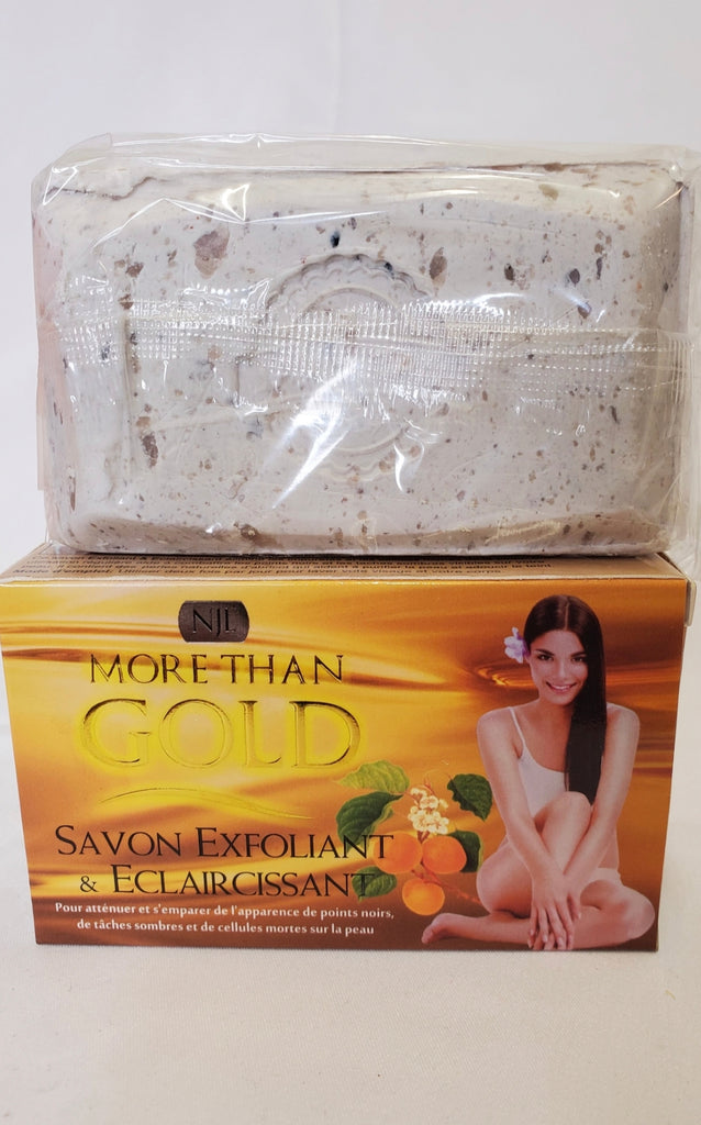 MORE THAN GOLD SAVON EXFOLIAT & ECLAIRCISSANT