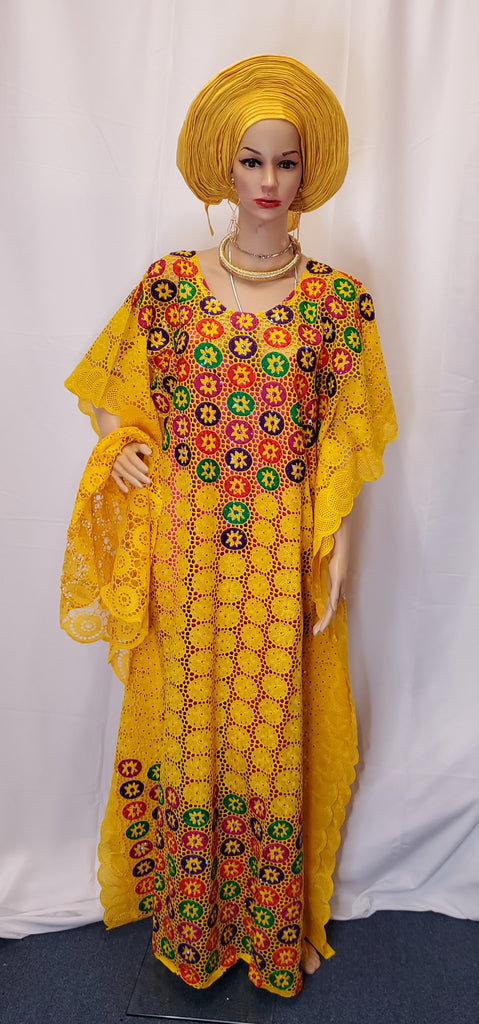 CLASSIC READY-MADE HIGH QUALITY SENEGALESE BEAUTIFUL BUBU  DRESS
