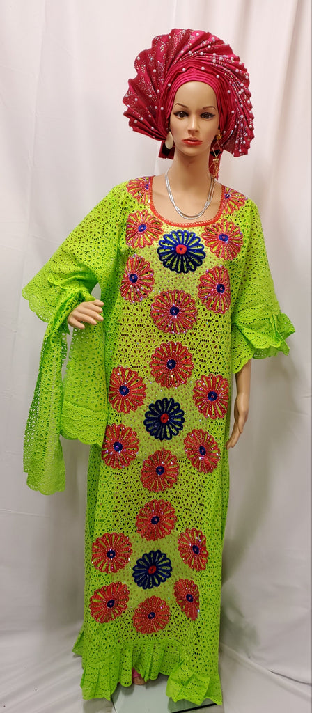 HIGH QUALITY READY-MADE SENEGALESE FULLY DESIGNED WITH INNER WEAR