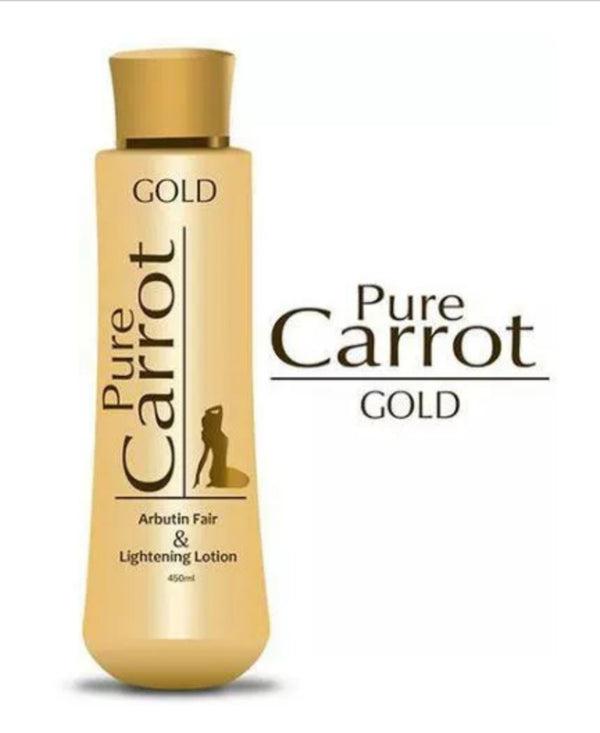 PURE CARROT GOLD ARBUTIN FAIR & LIGHTENING LOTION