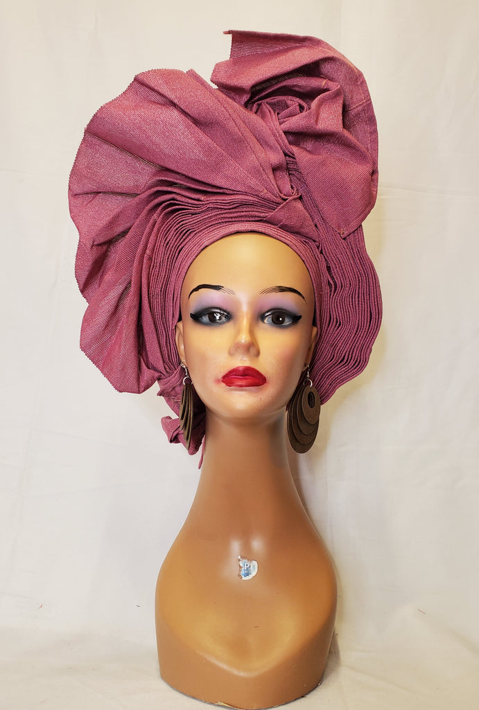 AFRICA AUTO GELE READY-MADE HEADTIE ONION
