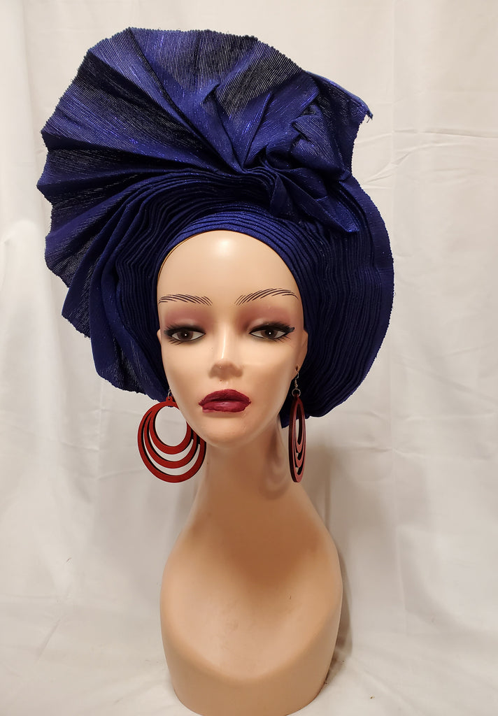 ELEGANT AFRICA TRADITIONAL READY-MADE HEADTIE ASO OKE