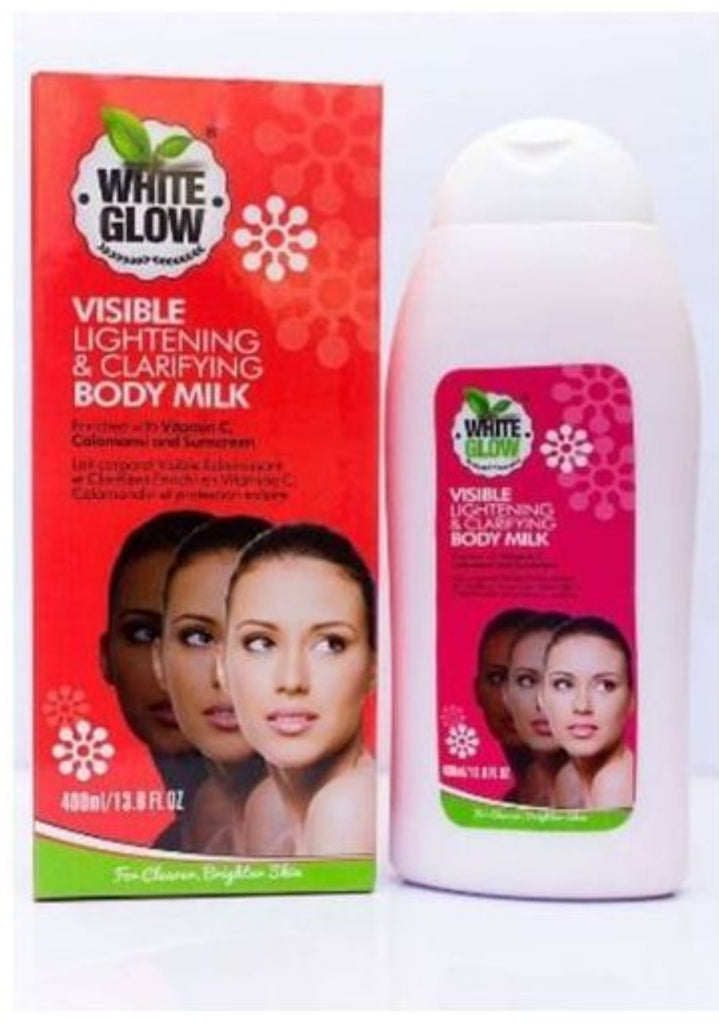 WHITE GLOW VISIBLE LIGHTENING & CLARIFYING BODY MILK