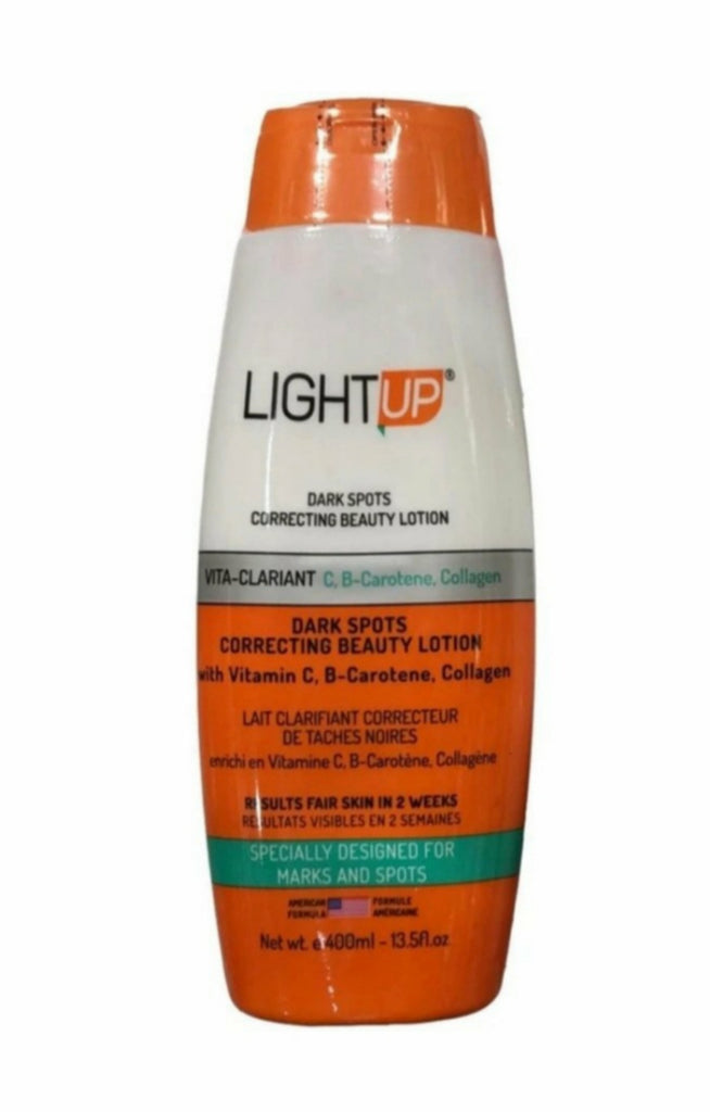 LightUp dark spots correcting Beauty lotion 400ml
