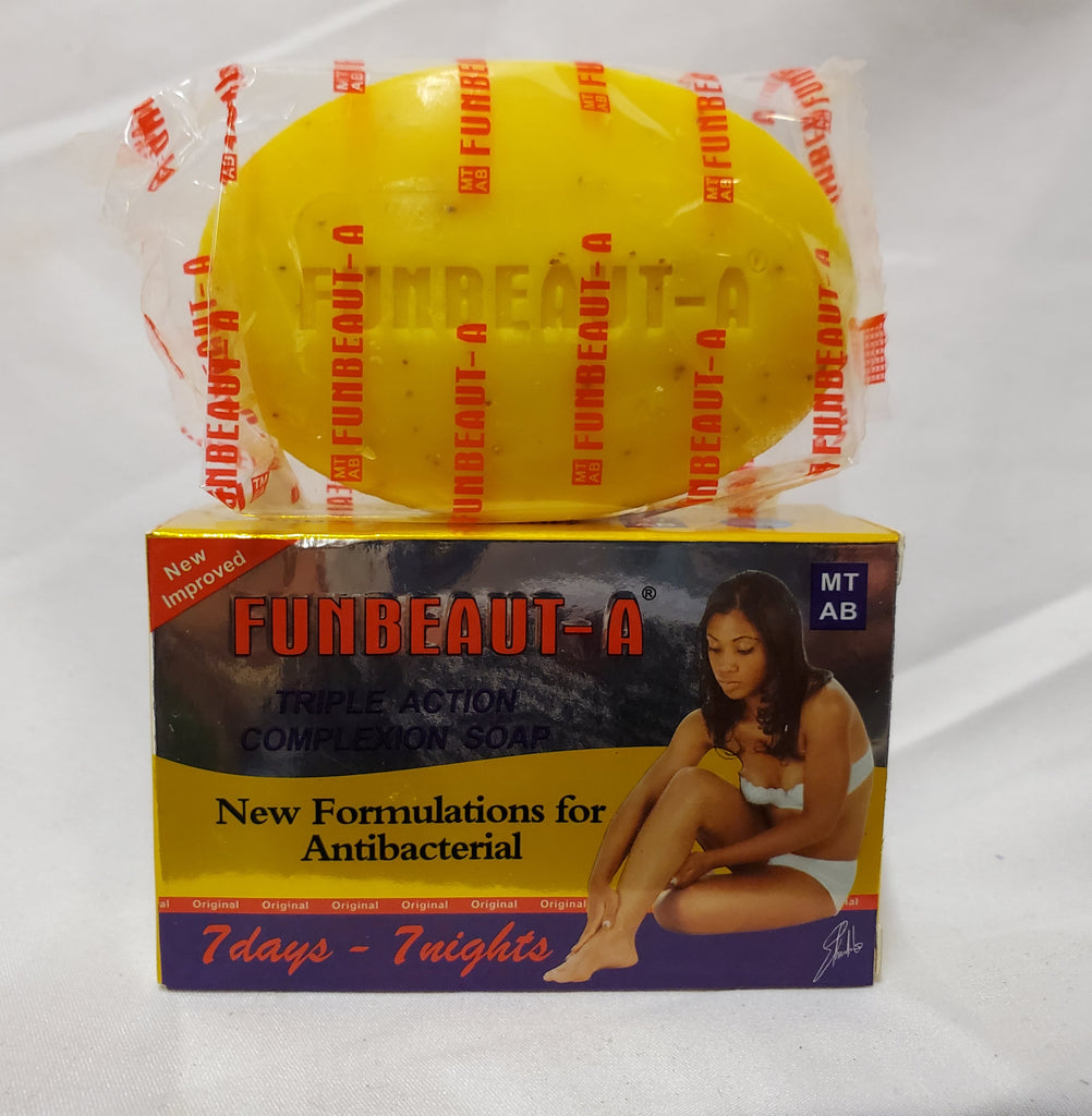 FUNBACT A TRIPLE ACTION COMPLEXION SOAP