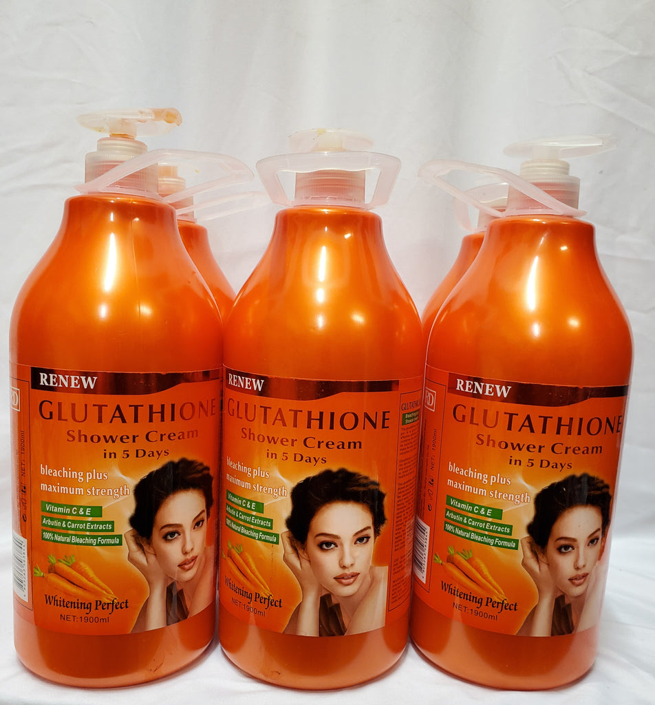 GLUTATHIONE SHOWER CREAM IN 5DAYS