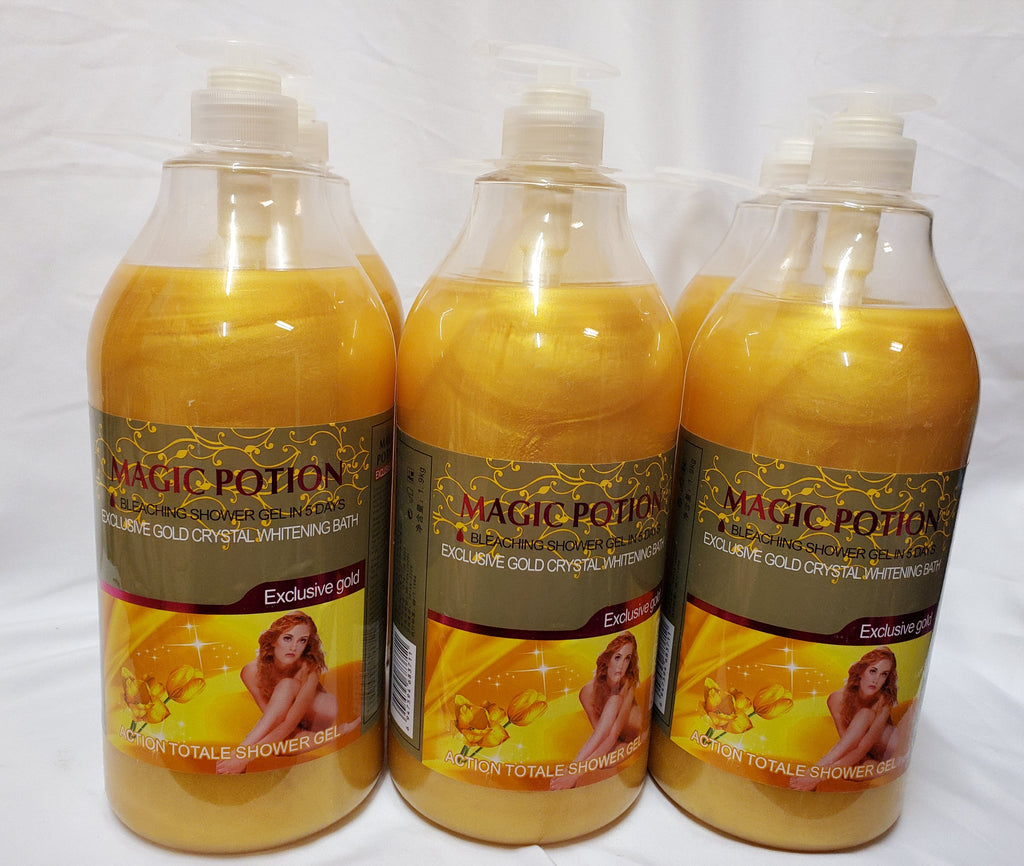 MAGIC POTION BLEACHING SHOWER GEL IN 5DAYS