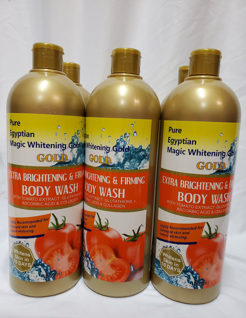 PURE EGYPTIAN MAGIC WHITENING GOLD EXTRA BRIGHTENING & FIRMING BODY WASH