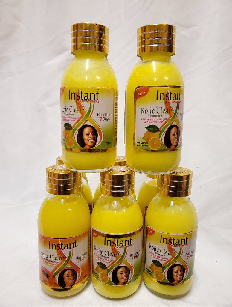 INSTANT KOJIC CLEAR WHITENING AND ANTI SPOT & KNUCLE CLEAR RESULT IN 7DAYS