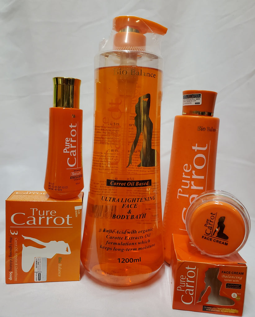 PURE CARROT BIO BALANCE CARROT OIL BASED WHITENING CARE 5 PIC