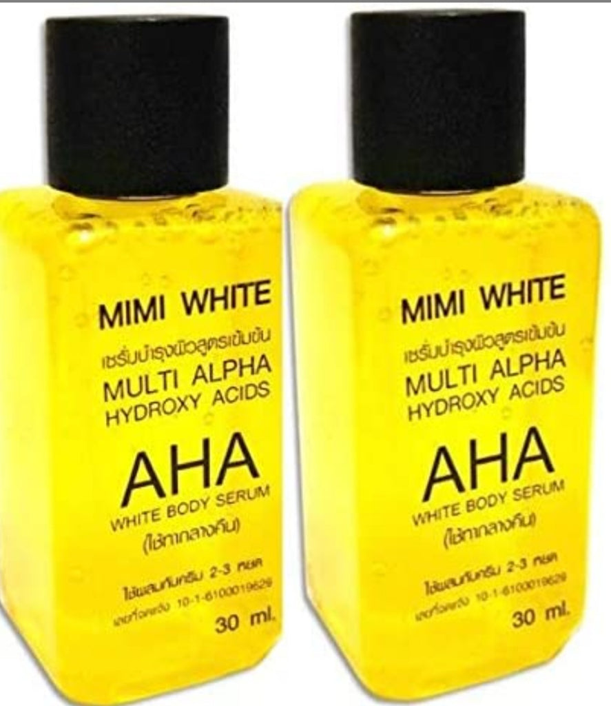 Mini White AHA White Body Serum