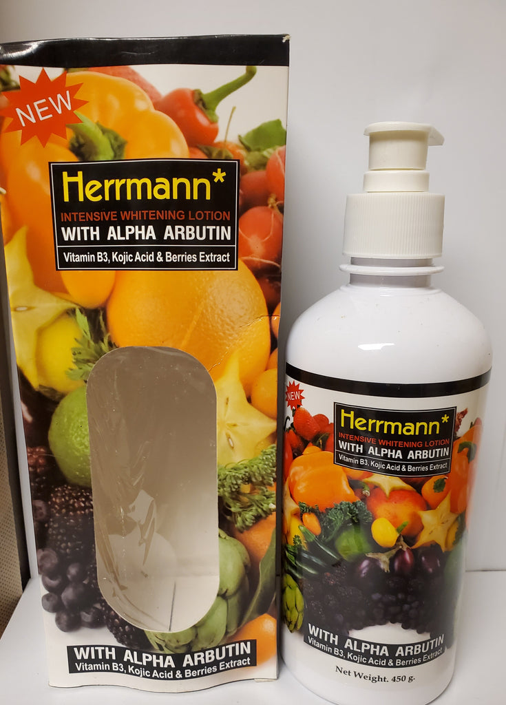HERRMANN INTENSIVE WHITENING LOTION WITH ALPHA ARBUTIN