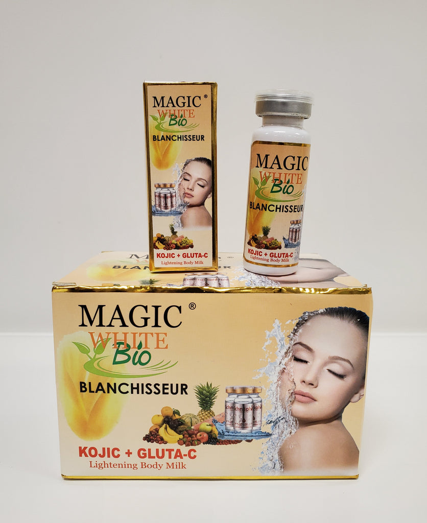 MAGIC WHITE BIO BLANCHISSEUR KOJIC + GLUTA C  SERUM