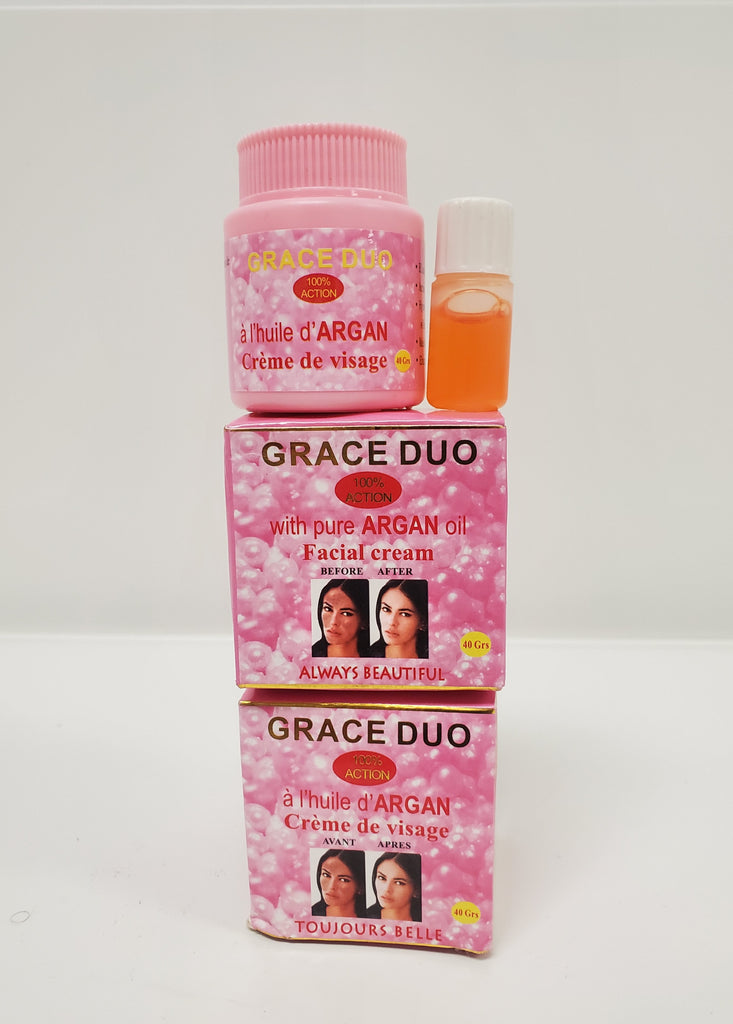 GRACE DUO WITH PURE ARGAN OIL FACIAL CREAM