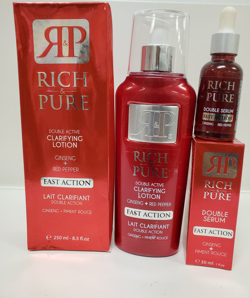 Rich Pure Double Action Clarifying Body Lotion 2pic Set