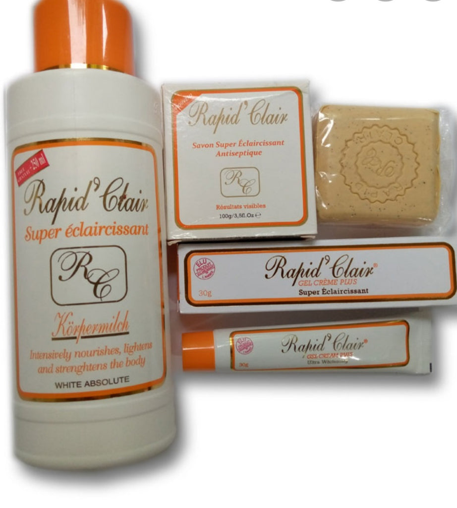 Rapid Clear Super Lightening Lotion+ Tube + Soap