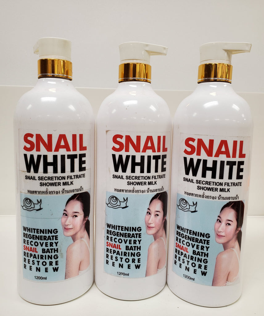SNAIL WHITE WHITENING SHOWER GEL