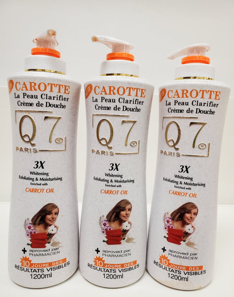Q7 PARIS 3X WHITENING SHOWER CREAM