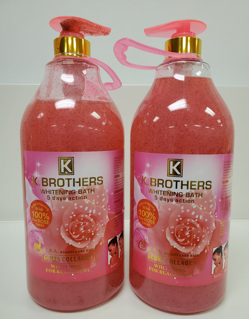 K.BROTHER WHITENING SHOWER GEL IN 5DAYS