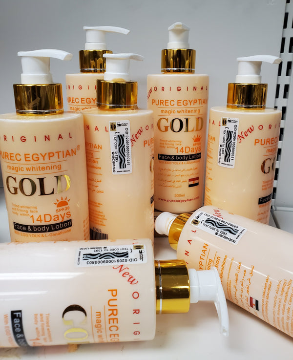 PUREC EGYPTIAN GOLD MAGIC WHITENING LOTION