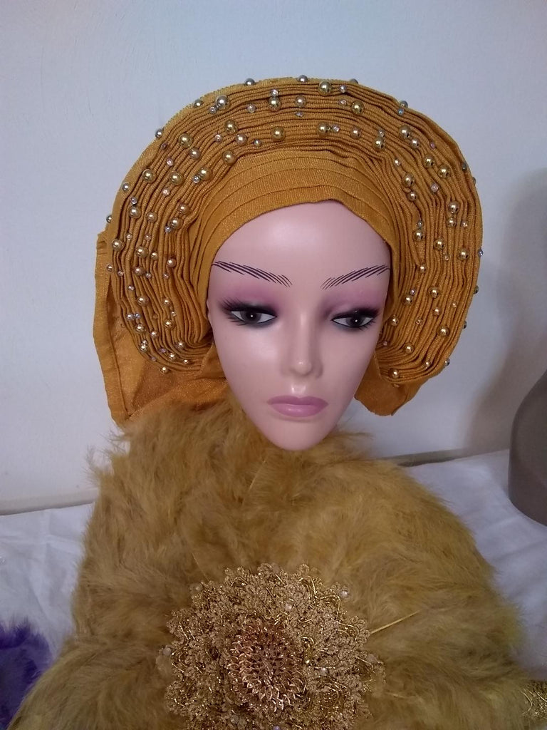 READYMADE AUTO GELE HEADTIE