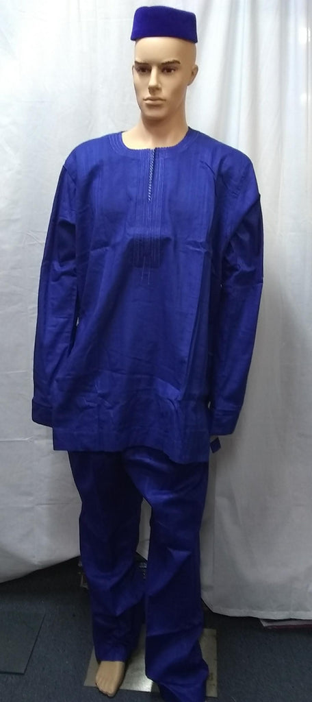 AFRICAN MEN'S COMPLETE  SET OF OUTFIT 18 - Ladybee Swiss Lace