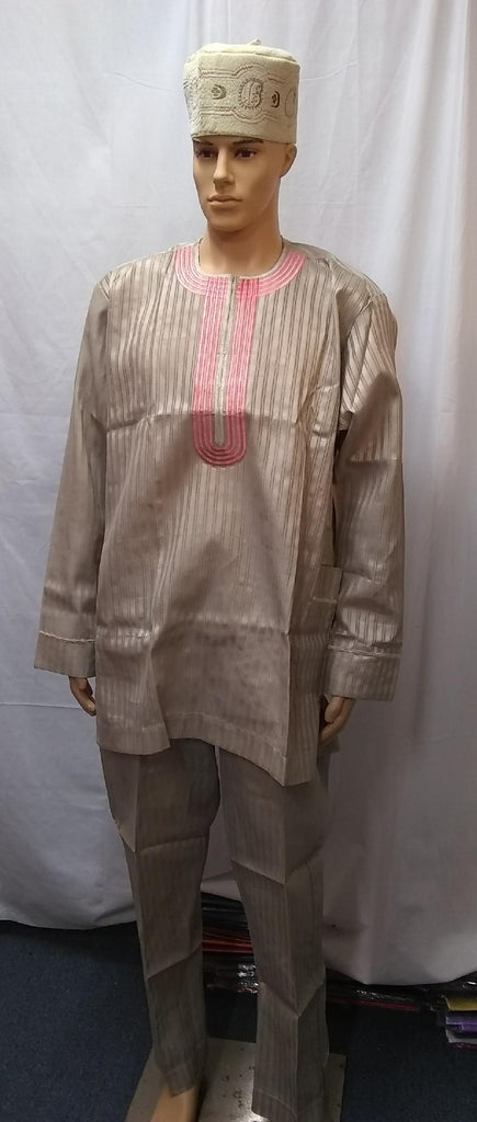 AFRICAN MEN'S COMPLETE  SET OF OUTFIT 21 - Ladybee Swiss Lace