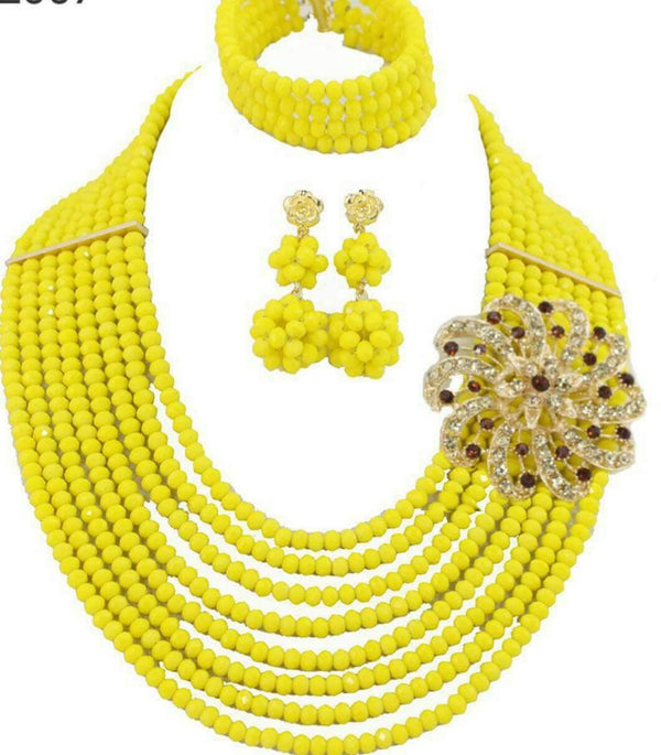 Beads Jewelry Set 6 - Ladybee Swiss Lace
