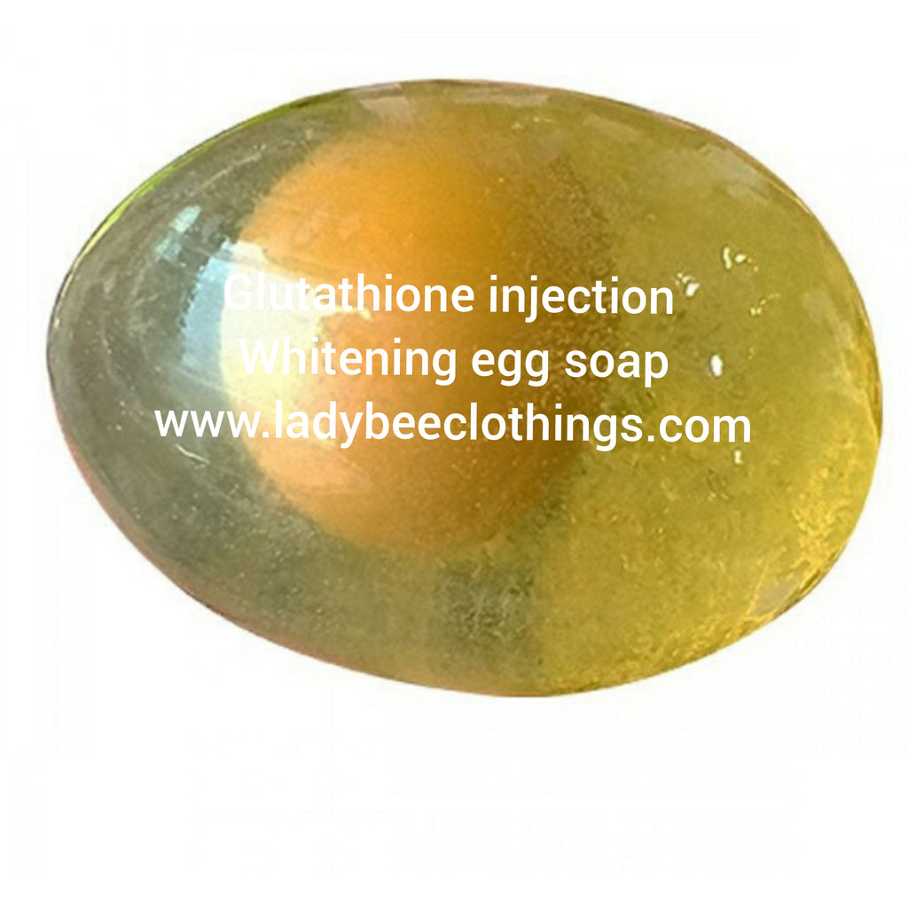 Glutathione injection whitening face soap