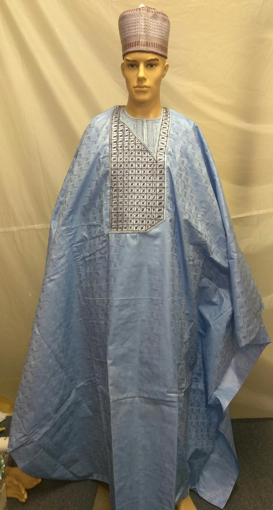 LOVELY MEN AGBADA 3 PIECE MEN CLOTH - Ladybee Swiss Lace