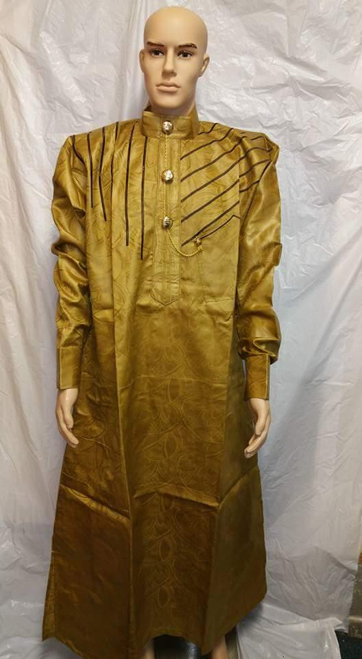 African Men Clothing Traditional  Outfit Complete Set - Ladybee Swiss Lace