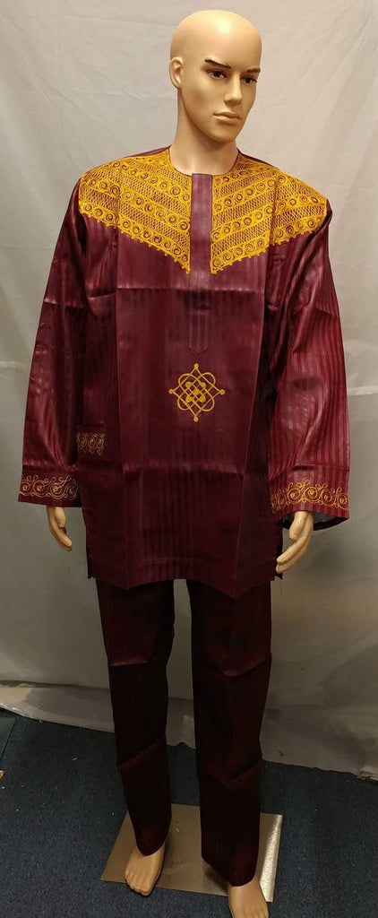 AFRICAN MEN'S COMPLETE  SET OF OUTFIT - Ladybee Swiss Lace
