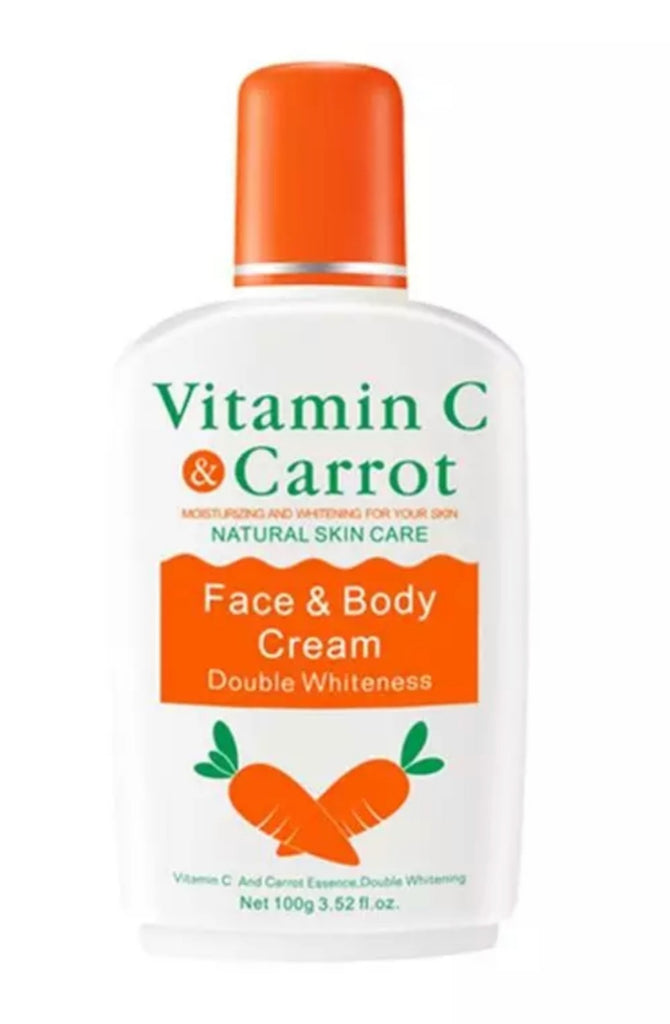 VITAMIN C CARROT NATURAL SKIN CARE FACE &BODY CREAM