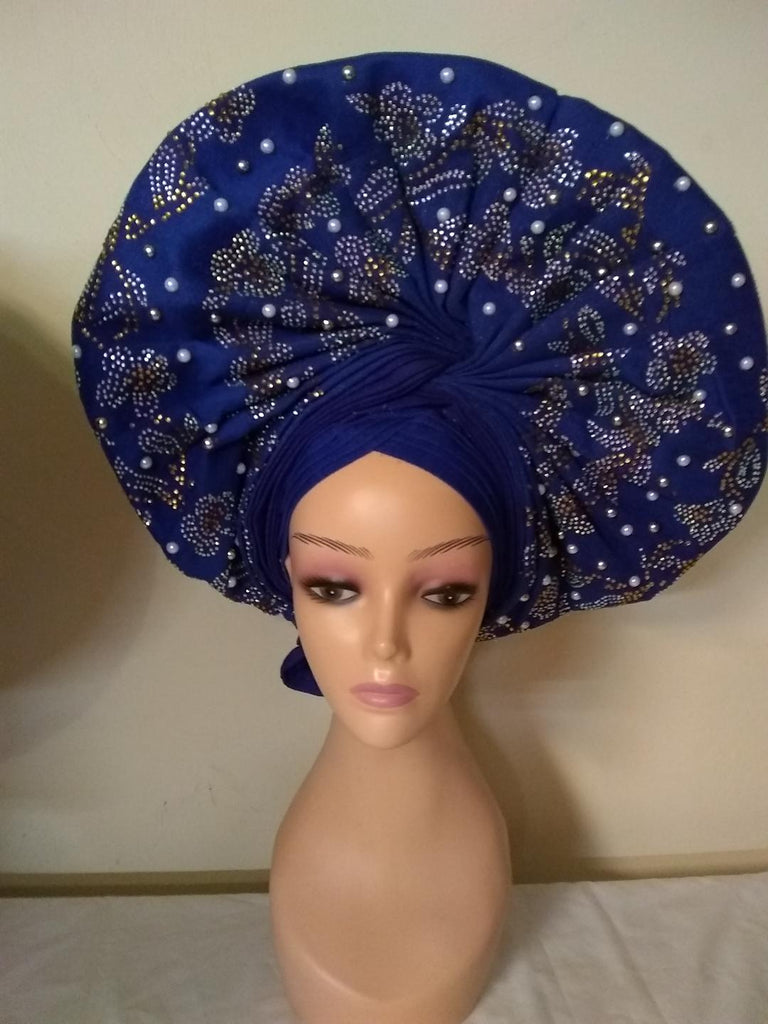 BEAUTIFUL HEADTIE AUTO GELE - Ladybee Swiss Lace