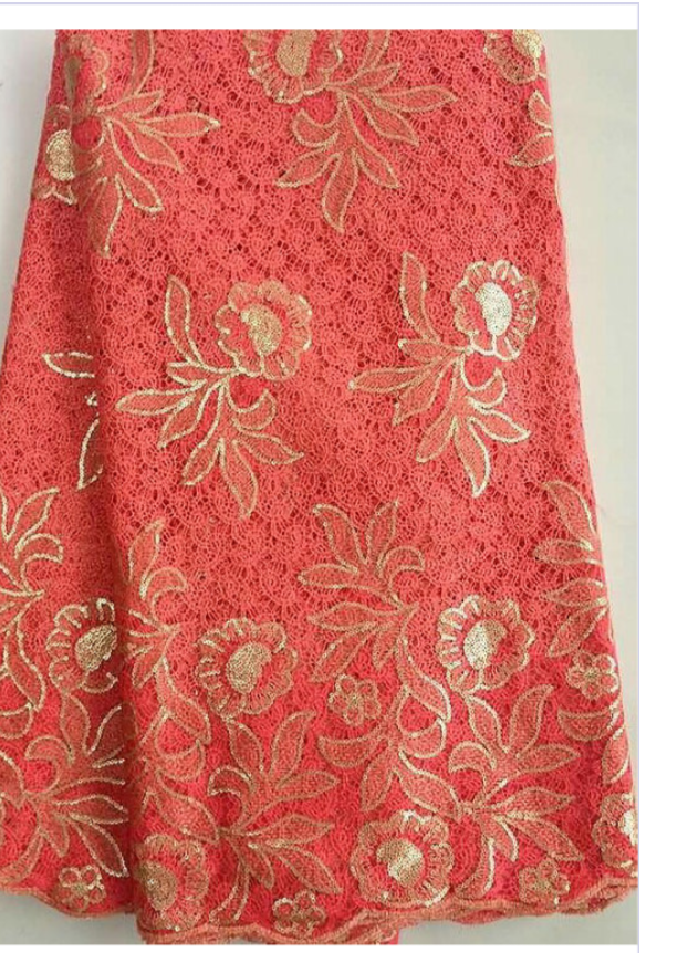 Guipure Lace fabric - Ladybee Swiss Lace