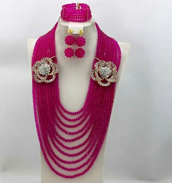 Bridal Beads Jewelry Set - Ladybee Swiss Lace